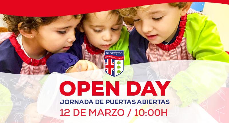 OPEN DAY EL CAMPITO MONTESSORI SCHOOL 2020